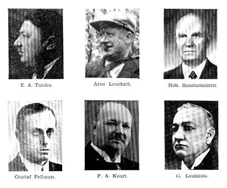 johtokunta 1917